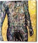 Shower Man Canvas Print