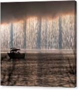 Shower Of Fireworks Canvas Print