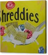 Shreddies Canvas Print