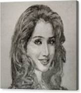 Shreya Ghoshal Canvas Print