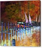 Shrimpboats Canvas Print