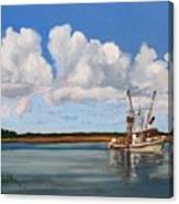 Shrimper Canvas Print