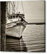 Shrimpin' Boat IIi Canvas Print