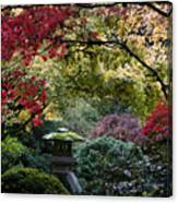 Shrine In Watercolors Canvas Print