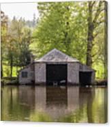 Shropshire Boathouse Canvas Print