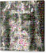 Shroud Of Turin Canvas Print