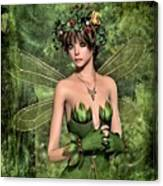 Shy Fairy Canvas Print