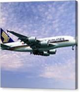 Sia A380 9v-ska Canvas Print