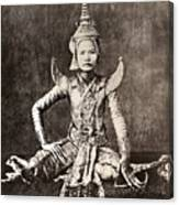 Siam: Dancer, C1870 Canvas Print