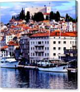Sibenik Waterfront Canvas Print