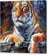 Siberian Tiger Canvas Print