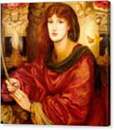 Sibylla Palmifera Canvas Print