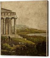 Sicilian Scenery 1823 Canvas Print