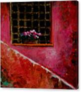 Sicilian Window Canvas Print