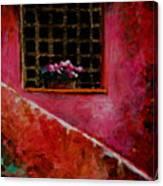 Sicilian Window Canvas Print
