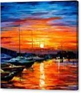 Sicily - Harbor Of Syracuse Canvas Print