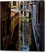 Side Canal Canvas Print