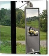Side Car Framed Canvas Print