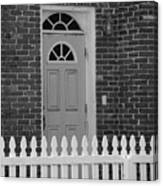 Side Door Canvas Print
