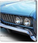 Side-lighting Buick Canvas Print