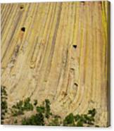 Side Of Devils Tower Canvas Print