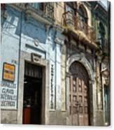 Side Street Homes Antiqua Guatemala 3 Canvas Print