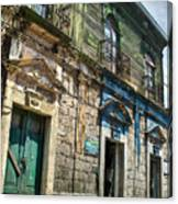 Side Street Homes Antiqua Guatemala 5 Canvas Print