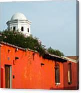 Side Street Homes Antiqua Guatemala Canvas Print