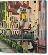 Side Streets In Annecy Canvas Print