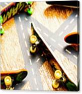 Side Streets Of Skate Canvas Print