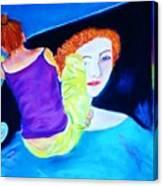 Sidewalk Artist II Canvas Print
