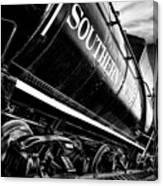 Sideways Train Canvas Print