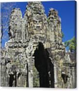 Siem Reap, Angkor Thom Canvas Print