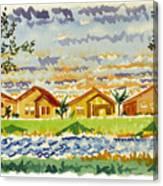 Siena Lakes Canvas Print