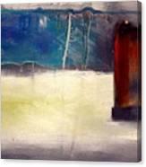 Siennna Square Canvas Print