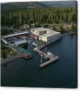 Sierra Boat Aerial Canvas Print