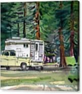 Sierra Campsite Canvas Print