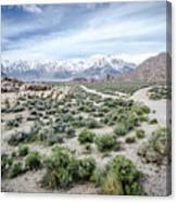 Sierra Nevada Front Canvas Print