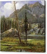 Sierra Nevada Mountains Canvas Print