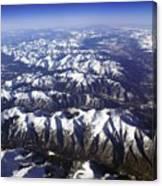Sierra Nevada Range Canvas Print