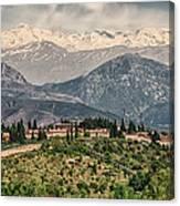 Sierra Nevada View Canvas Print
