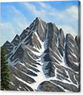 Sierra Peaks Canvas Print