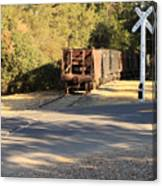 Sierra Railway Hoppers Canvas Print