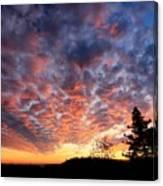 Sierra Skygasm Wide Angle Canvas Print