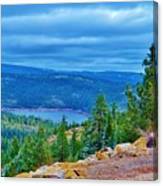 Sierras Before Snow Storm Canvas Print