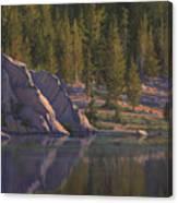 Sierra's Last Light Canvas Print