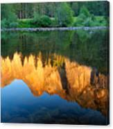 Sierras Reflected Canvas Print