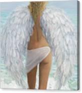 Siesta Key Beach Angel Canvas Print