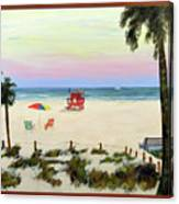 Siesta Key Beach Morning Canvas Print