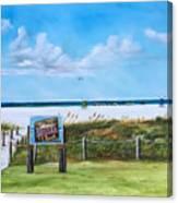 Siesta Key Public Beach Canvas Print